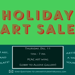 Holiday Art Sale